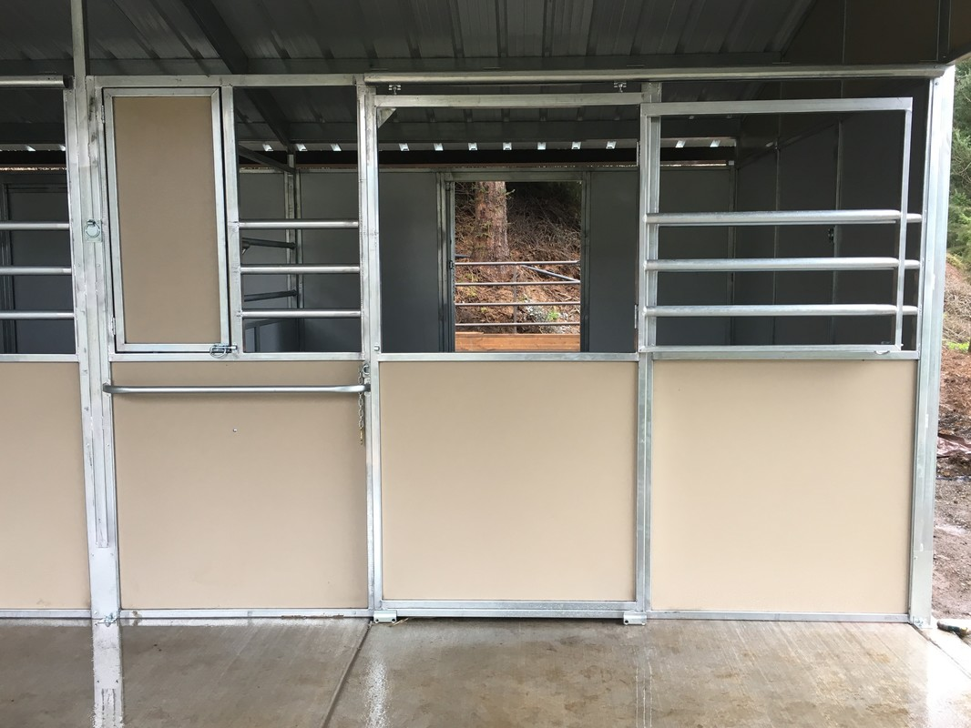 Stall Fronts Norcal Structures Inc
