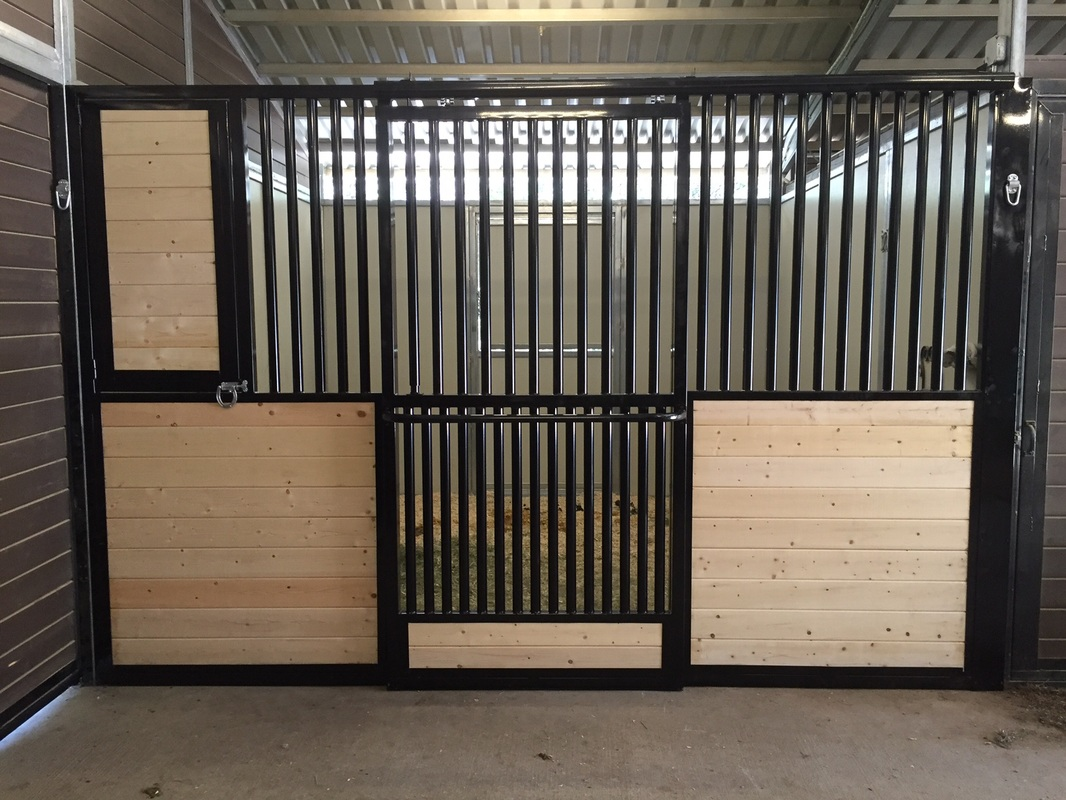 Double Grilled Door  Maximize airflow and Visibility & Door Options \u0026 Divider Walls - NorCal Structures Inc.